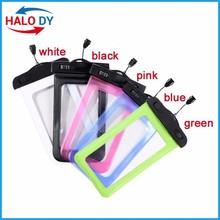 Cell phone waterproof bag wholesale, waterproof smartphone bag, 2015 waterproof drawstring bag