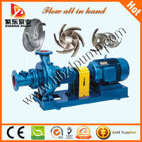 Superior to full open impellers pump for handling thick liquid