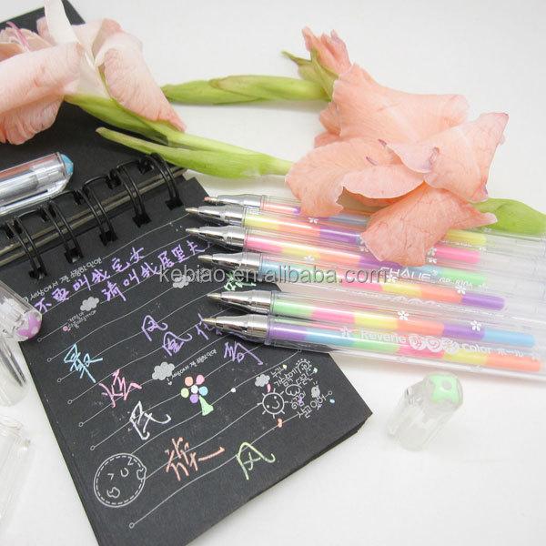 Pens that write on black paper
