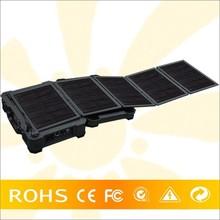 Low MOQ 50W Solar Panel AC 350W Inverte PV Solar Panel Kit For Camping Travelling