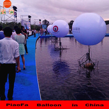 2m'inflatable led stand ballon for advertising/ decoration ballon for party adverting