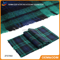 Super Soft Cashmere Lady Winter Wraps And Shawls Z Colorful Plaid Square Scarves Pashmina Shawl