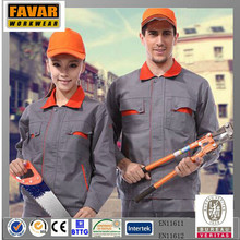 High Quality Multi-functional Flame Resistant Coverall Working Uniform