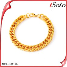 china factory alibaba website men's jewelry gold chain stainless steel bracelet