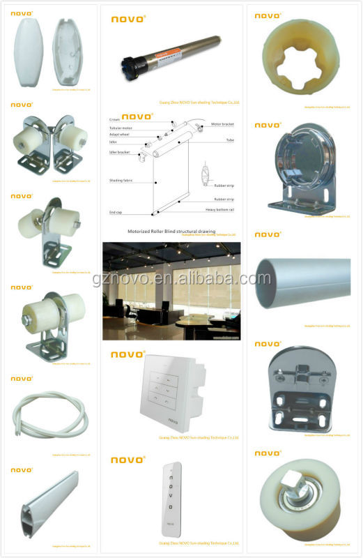 Chinese 45mm tubular motor / steel tubular gate