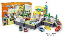 GY95712 DIY mini solid city car wash