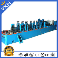 Newest stanlness steel tube machine manufacture round square rectangle tube Indonesia