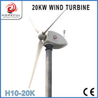 240 volt 20kw home use wind generators with CE ISO certification (on-grid)