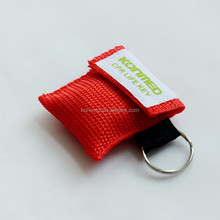 cpr life key ,disposable latex free OEM service available cpr mask keychain