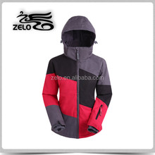 Support paypal functional seam taped melange snow skiing garment