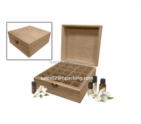 cosmetic packaging wood/bamboo box storage boxes bamboo/wooden essential oil box
