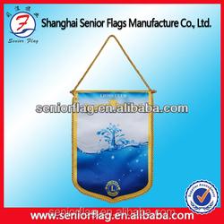 mini football soccer team pennant flag
