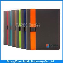 2015 hot selling customize new design hard cove rnotebook for office supplies