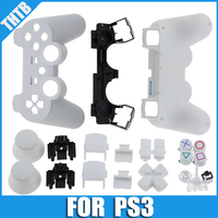 matte white for ps3 shell replacement controller case