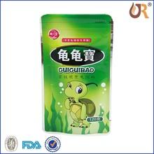 silver foil food bag/Silver Aluminum Foil Mylar BagVacuum Sealer Package Shipping Safety Food