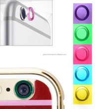 2015 NEW 5 Colors Cool Rear Camera Lens Protective Circle Cover Case Protector for moible phone