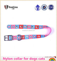 Beautiful soft nylon collar for dogs cats