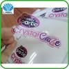 Custom waterproof transparent self adhesive sticker label, die cut sticker, clear vinyl sticker