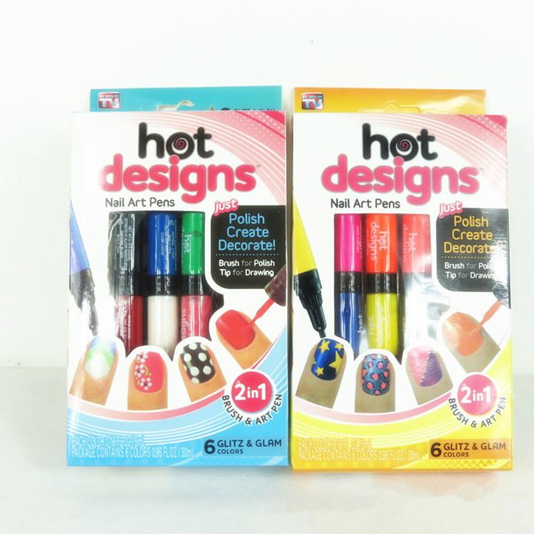 Luxury As Seen On Tv Nails Illustration - Nail Paint Design Ideas ...