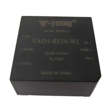 5W AC DC Power supply with wide input range, small package