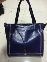 fashion woven leather handbag leather men handbag genuine leather women handbag
