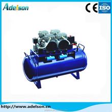 One for four 60L dental compressor tanks/mini oil free air compressor for dental chair