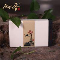 Unique brick shape fermented pu'er healthy tea