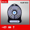 ac dc rechargeable usb charge cable mini size battery power supply rechargeable table electric fan with led light