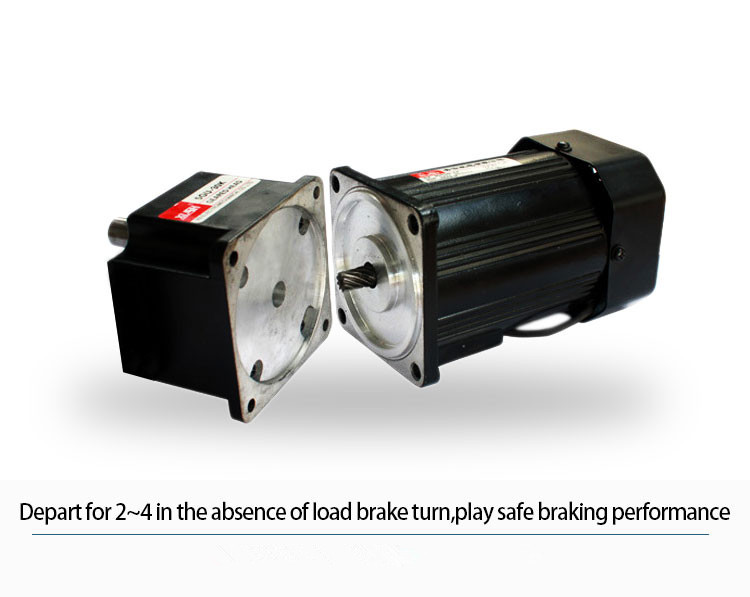 220v 380v 180w Gear Motor Small Geared Electric Motors
