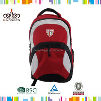 New pattern lead phthalate free sample 1680D laptop backpack bag