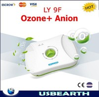 2015 newest! family use LY 9F ozone and anion generator machine