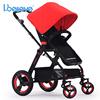 Great design pedal adjustable easy folding baby stroller