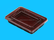 Disposable disposable plastic bento lunch box