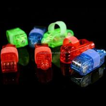 4 Colours LED Party Laser Finger Light Beam Torch Ring/led finger