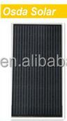 150 watt black pv panel for power station