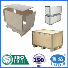 Foldable plywood box Wooden Crates