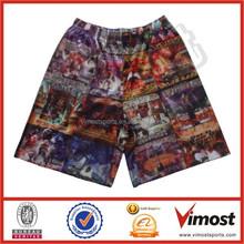 custom creative sublimated basketball shorts supplying