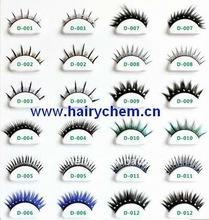 Party fashion crystal false lady eyelashes wholesale, Paypal