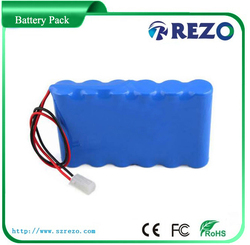 CE UL UN38.3 MSDS approved rechargeable backup lithium ion / li ion 7.4V 12V battery pack
