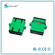 SC/APC Type Single Mode Duplex Fiber Optic Adapter