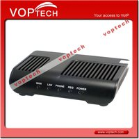 New! voip analog phone adapter with 1 fxs and 1life line