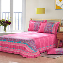 Floral pretty colorful bed sheets manufacturers in china