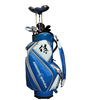 PU Leather Glossy PU golf cart bag with good quality