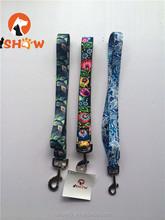 pet dog collar lead leash necklate fiber nylon rope printing embroidery
