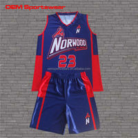 Excellent quality basketball jersey and short design