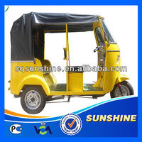 Nice Looking Best-Selling 250cc abs cabin passenger tricycle