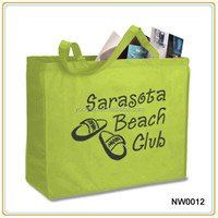 Cheap Fashion Non Woven Reusable Shopping Bag Promotional Shopping Bag