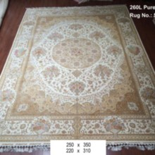 Ivory cream light color handmade qum silk oriental rectangular colorful area rugs for sale target price