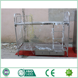 Pickling phosphating treatment bunk bed for ship