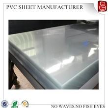 rigid pvc plastic sheet/rigid pvc film for blister pack/rigid pvc sheet manufacture
